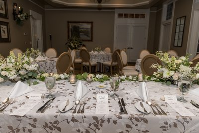 Steelwood Country Club Wedding Reception Space