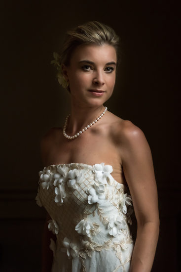 Glamorous Bride - Mobile Country Club Wedding