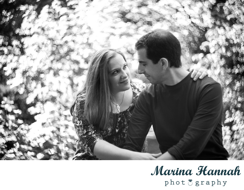 Engagement photoshoot in Shropshire