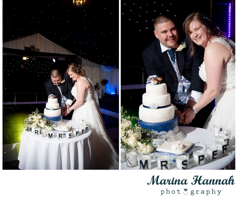 Nailcote Hall wedding cake