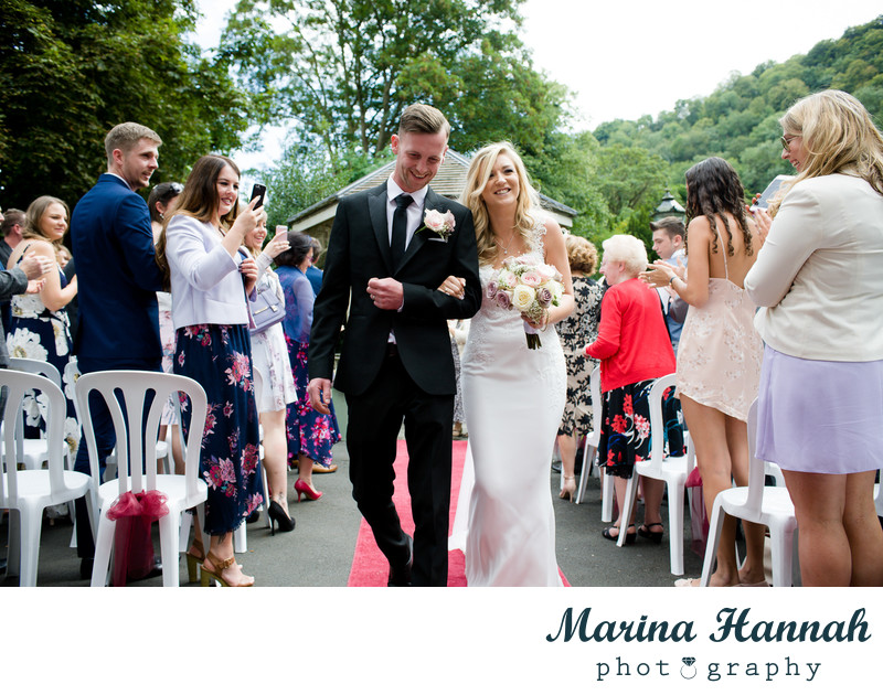 Outdoor Wedding in Shropshire
