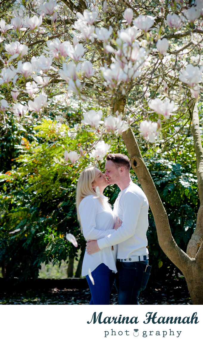 Early spring pre-wedding photoshoot in Dudley