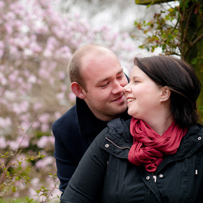 Spring engagement session in Bridgnorth, Shropshire