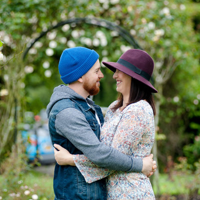 Wolverhampton pre-wedding photoshoot in Bantock Park
