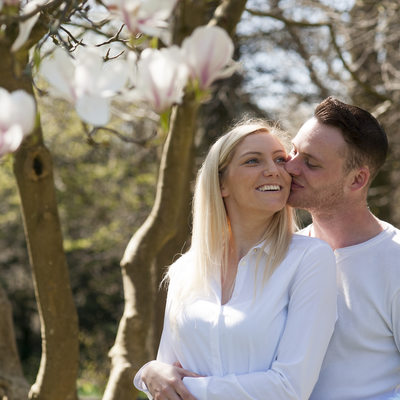 Pre-wedding engagemnet photoshoot in Shropshire