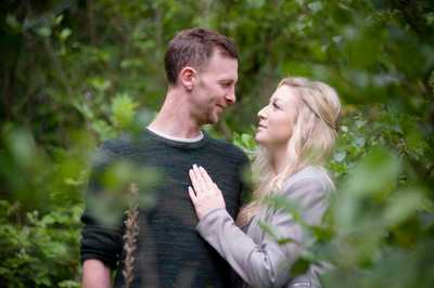 Engagement photos in Severn Valley Country Park