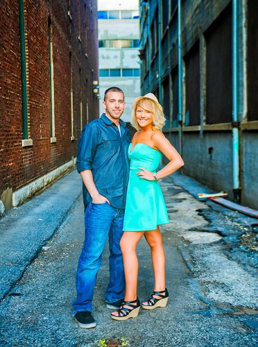 Engagement Photographer Downtown Indianapolis Indiana