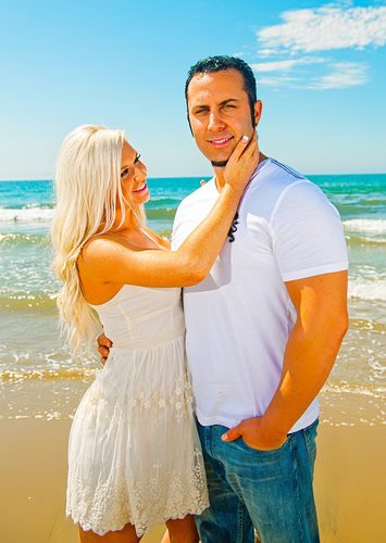 Engagement Photos in Santa Barbara California