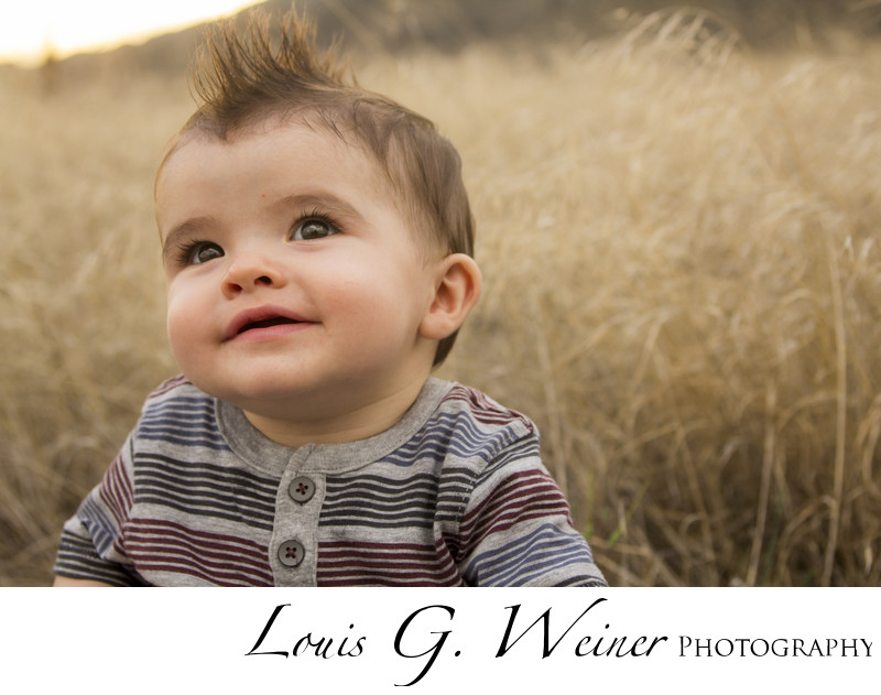 Child photography in nature, Rancho Cucamonga California