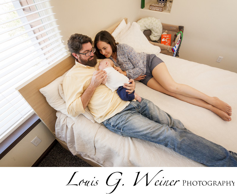 Life Style Infant Portraits in Lake Gregory California