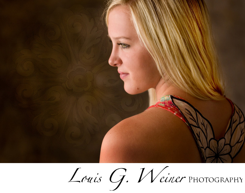 Palm Springs High School Senior studio Portrait