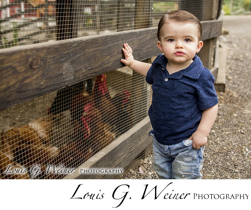 Children photography session at Green Spot Farms