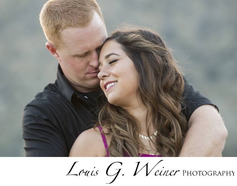 location outdoor Engagement session in Southern Ca.