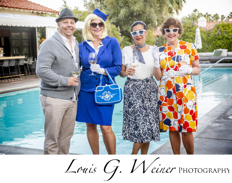 Themed party, AMI Corporate retreat, Palm Springs CA
