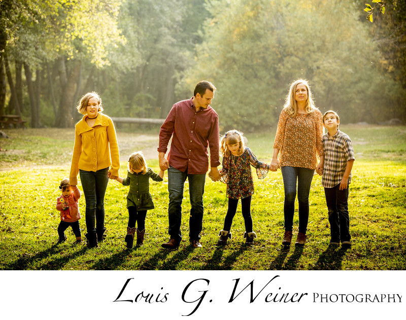 Family portraits at Seven Oaks Resort
