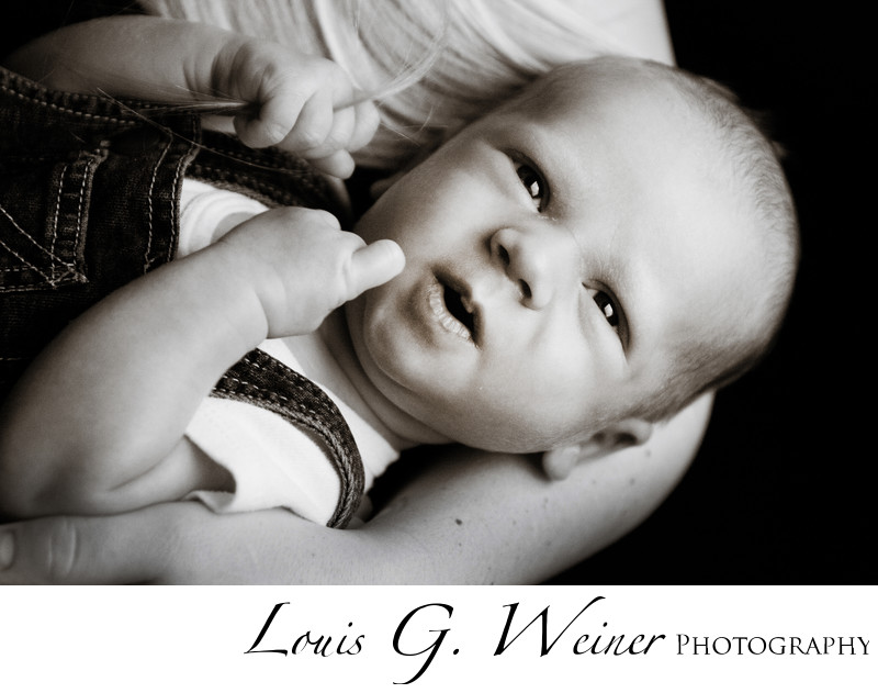 Cute Baby face,. Big bear lake Ca photograph of child