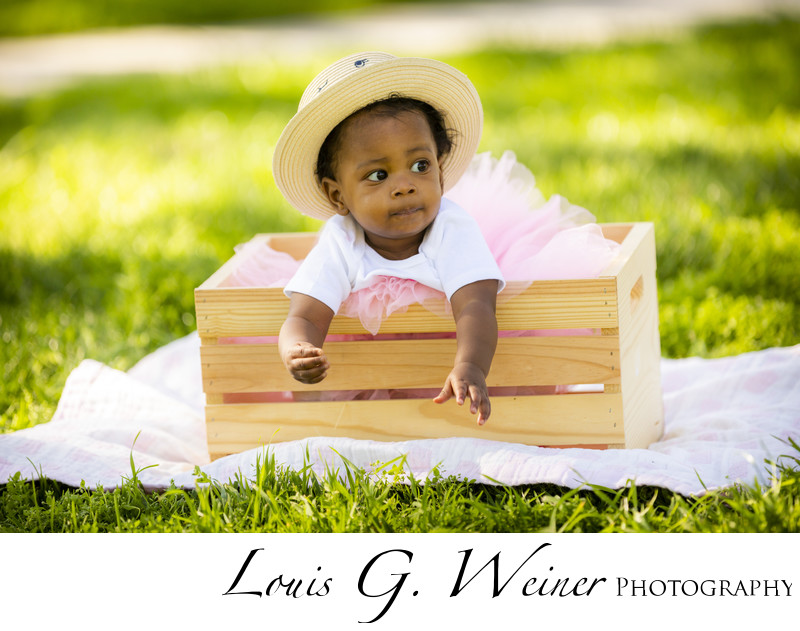 Beautiful One year old birthday session. Family Portraits in Riverside