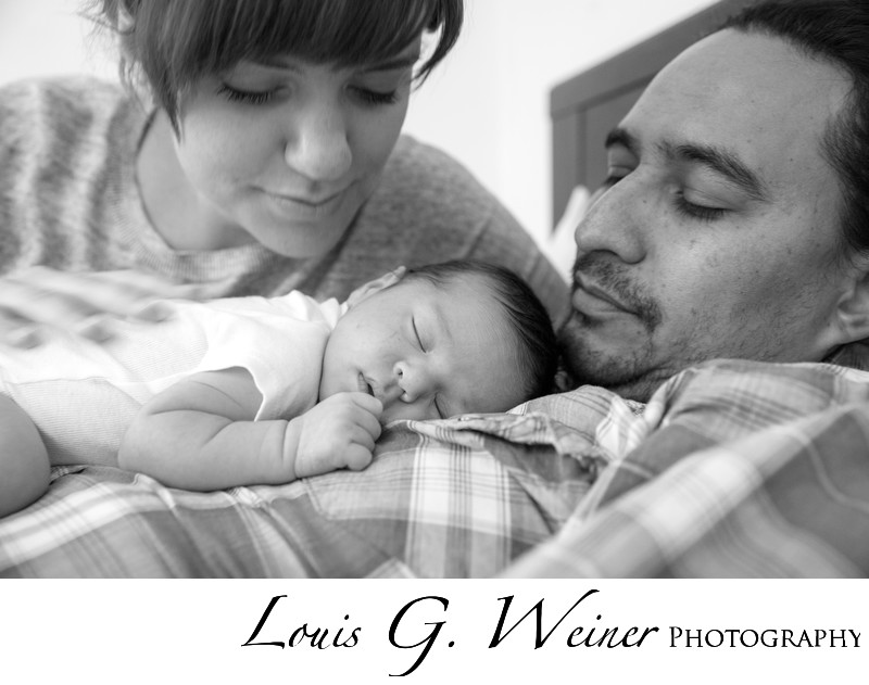 Infant baby photo session in Redlands