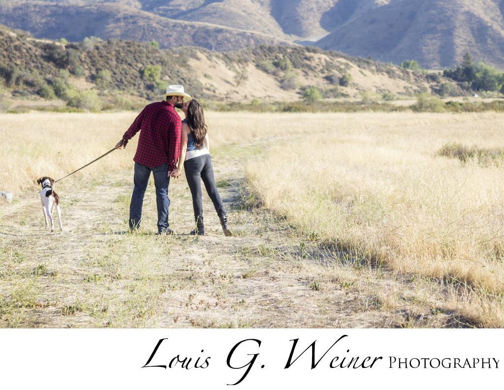 Mentone / Redlands summer outdoor Engagement Session