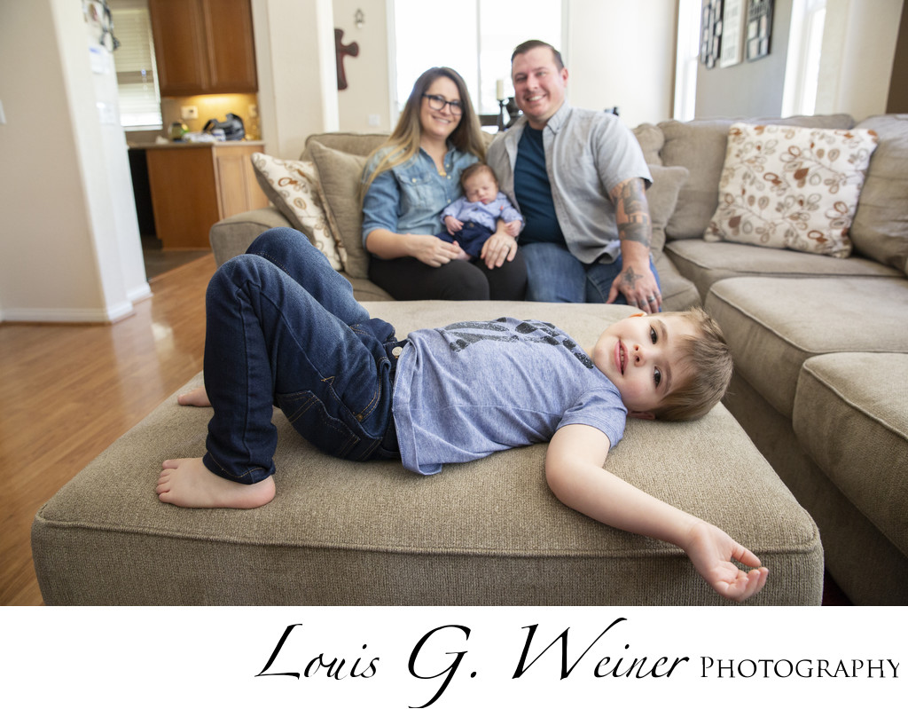 lifestyle Family session in Beaumont California