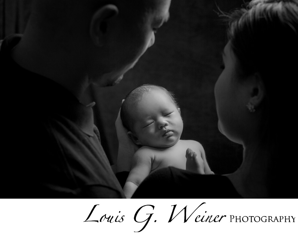 Loma Linda Infant and family portrait session