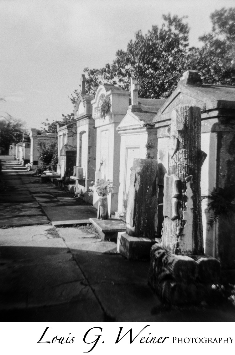 New Orleans grave yard, historic places, travel photography