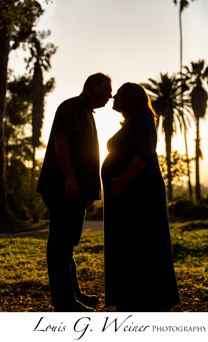 Maternity Family portratis at Prospect park in Redlands California