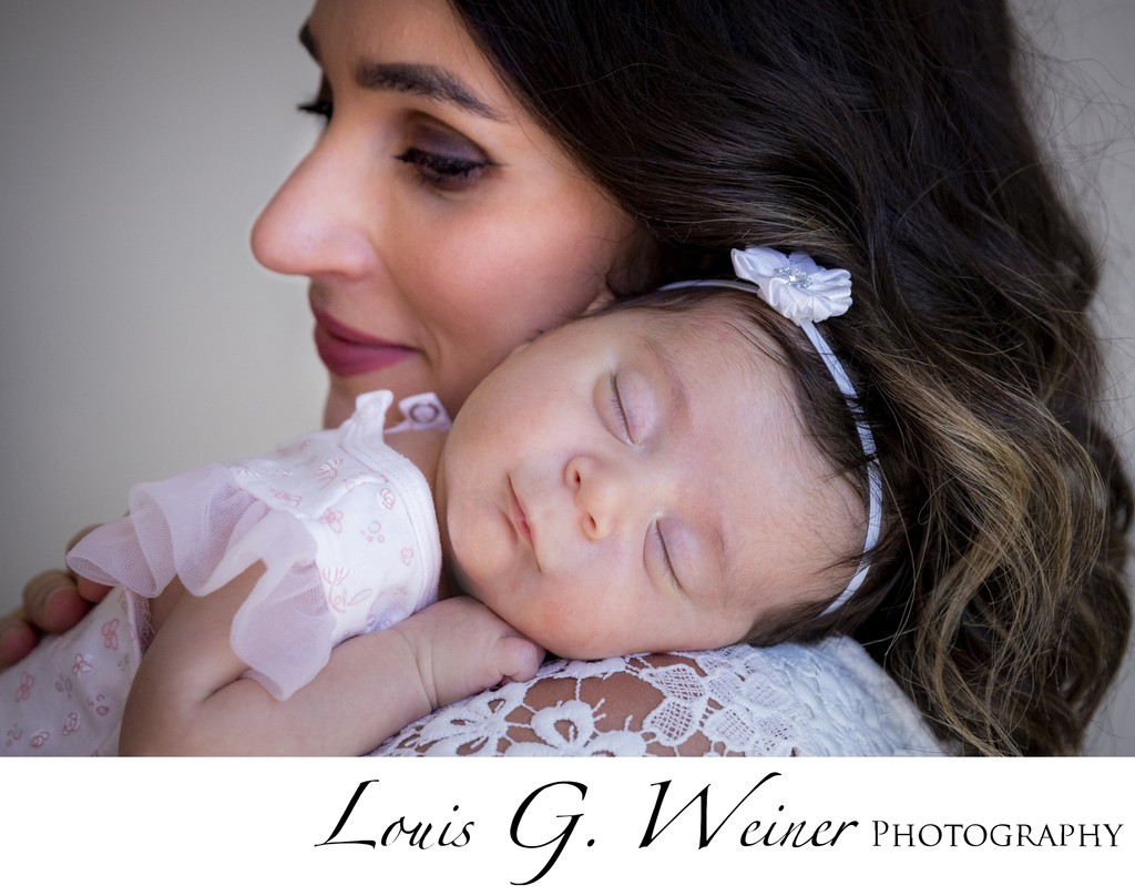 Mother with her sweet baby girl, Portrait session Redlands CA