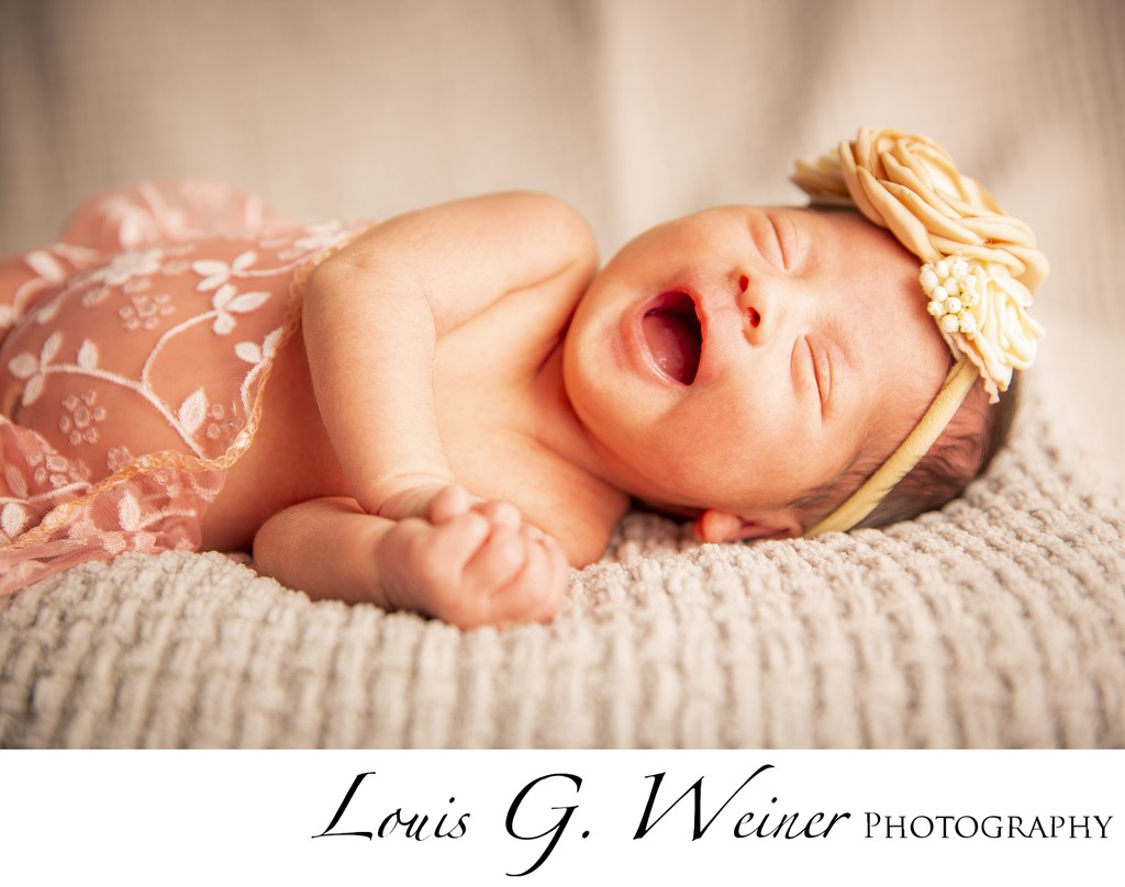 Joyful Newborn Photography session in Fontana