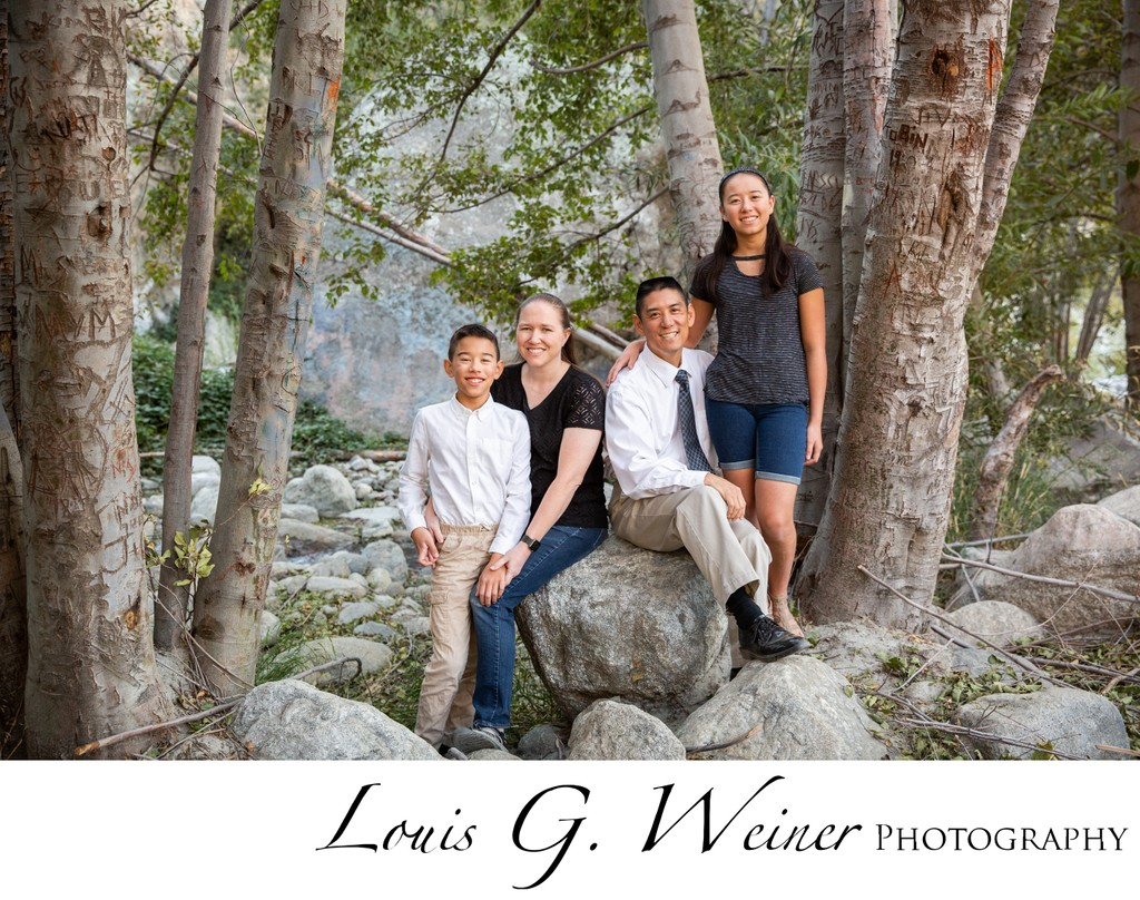 Family Portraits in Mentone California