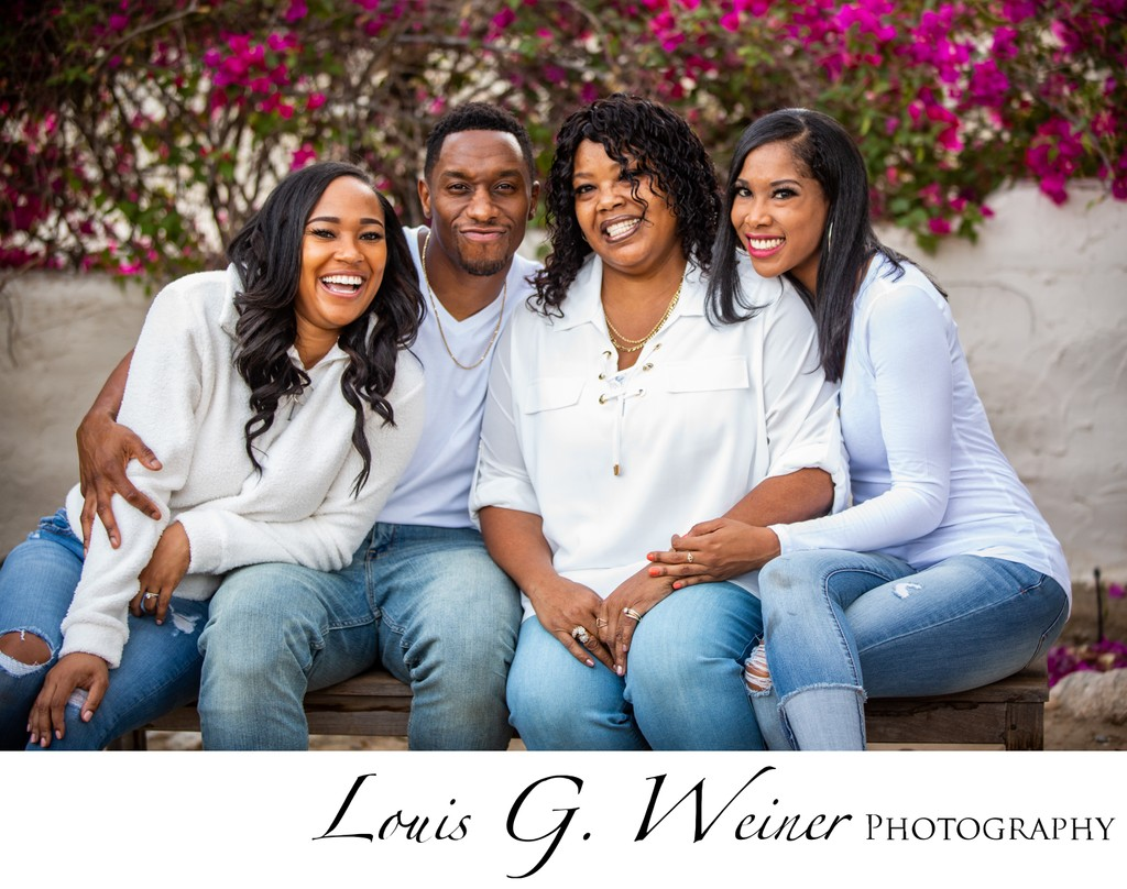 Family Portrait session in Palm Springs, CA