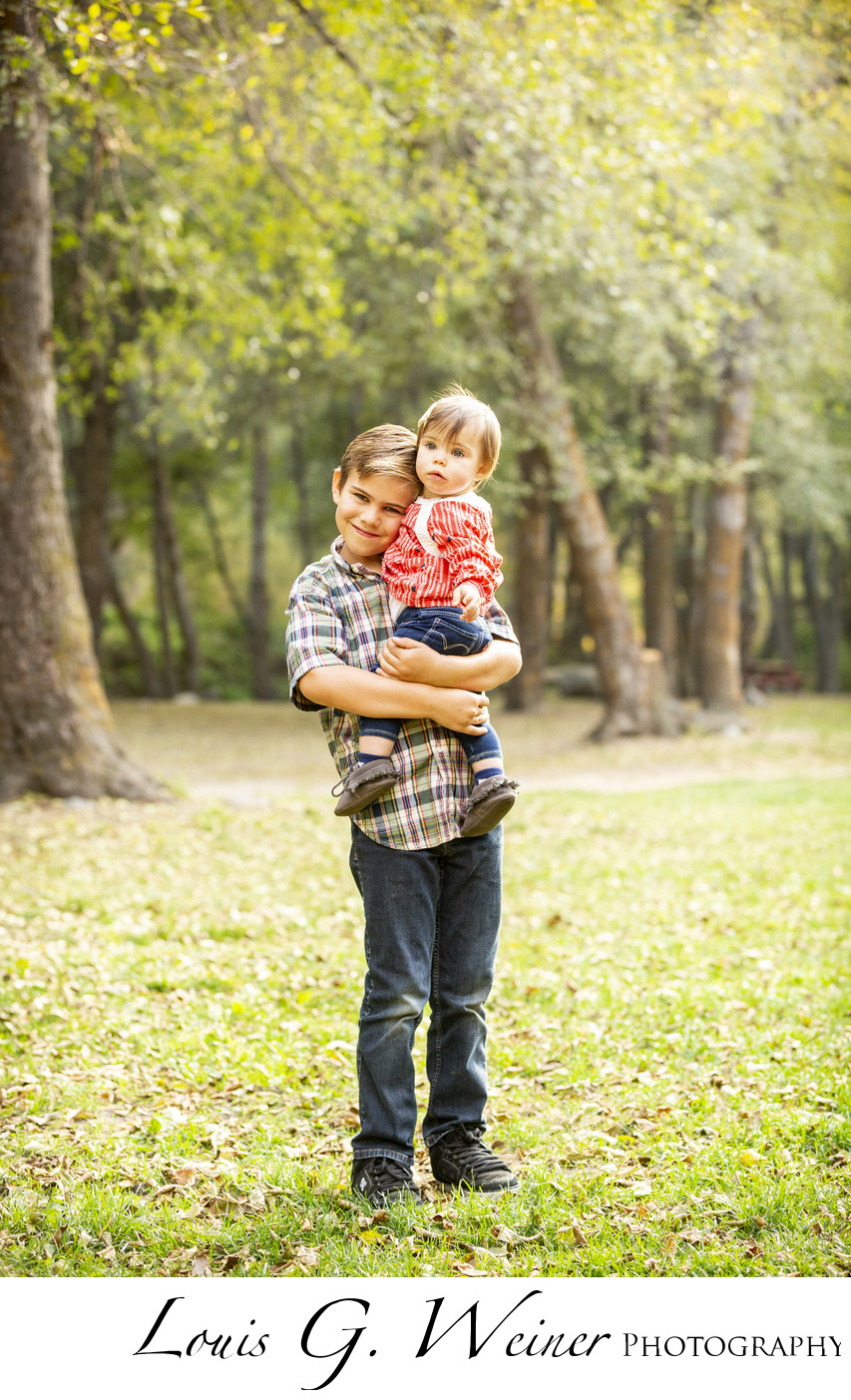 Children portraits at Seven Oaks Resort, California