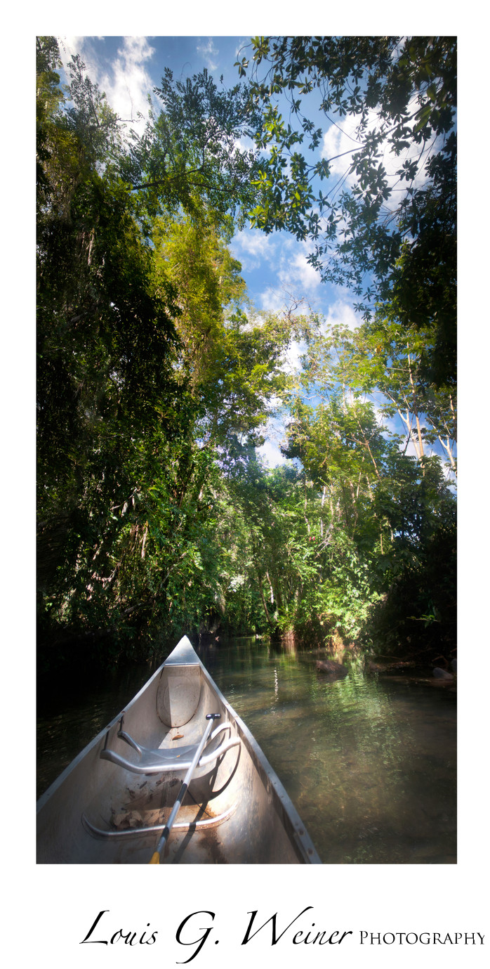 Canoeing Belize Travel Photography