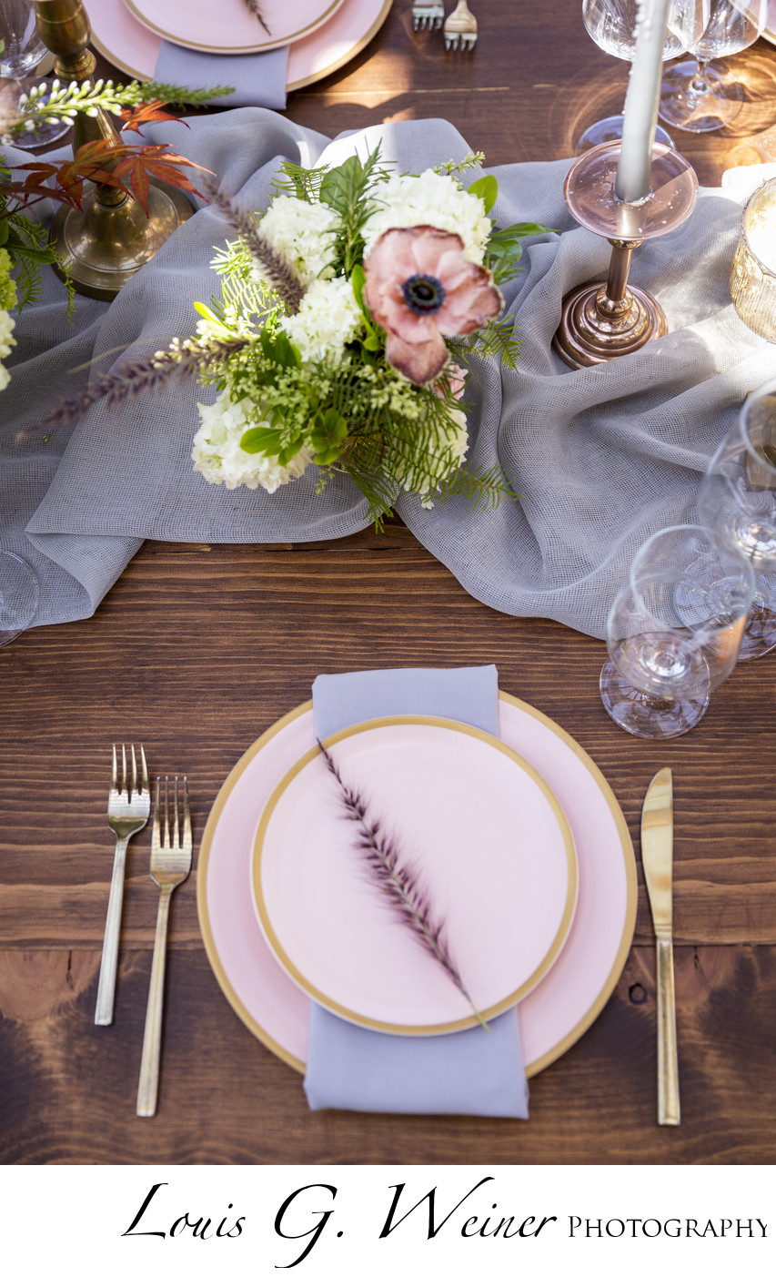 Styled shoot with Modern Relics and Wisteria Grove