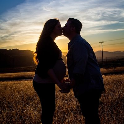 Redlands pregnancy photographs, Louis Weiner Photography