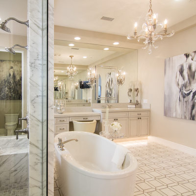 Amazing Bathroom Interior design by Jan Cregier