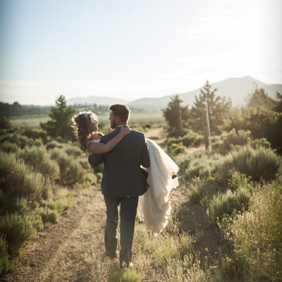 Jackrabbit ranch wedding big bear California