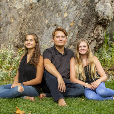 Familey Portraits at The Homestead in Oak Glen, Ca