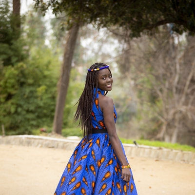 Kenyan Fashion photographed in Redlands, California