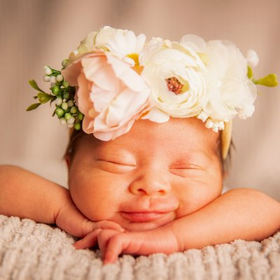 Newborn Photography session in Fontana