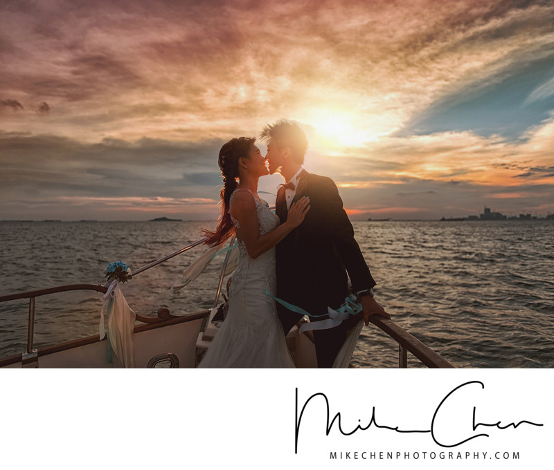 Raffles Marina Wedding Photography Singapore