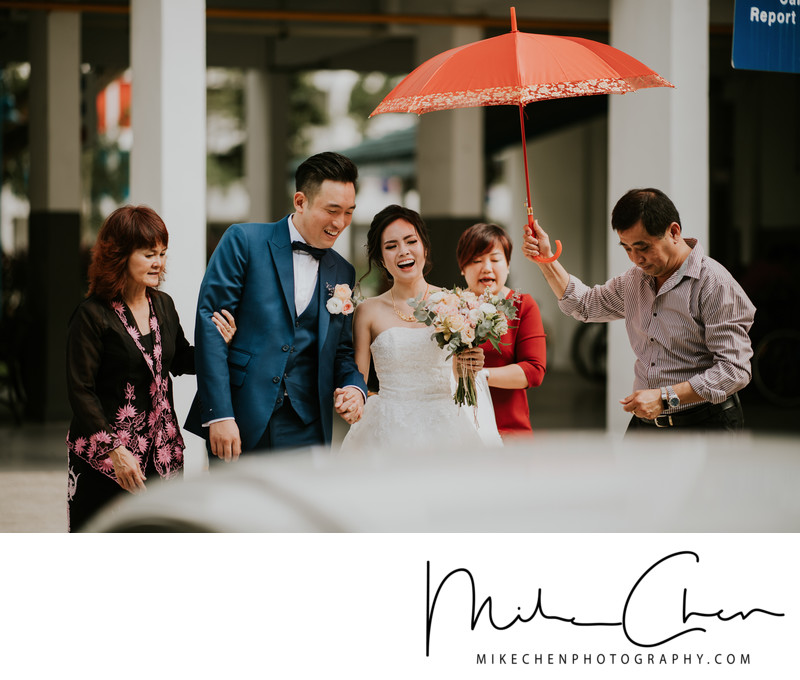 Actual Day Wedding Photo Singapore
