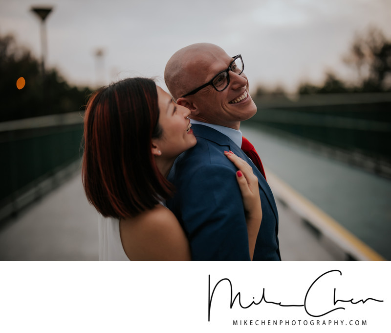Singapore Pre Wedding Photographer Outdoor
