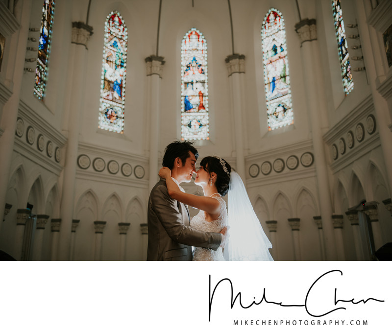 Chijmes Wedding Photoshoot