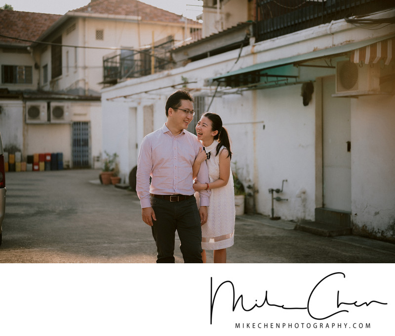 Natural Beautiful Pre Wedding Photography Singapore