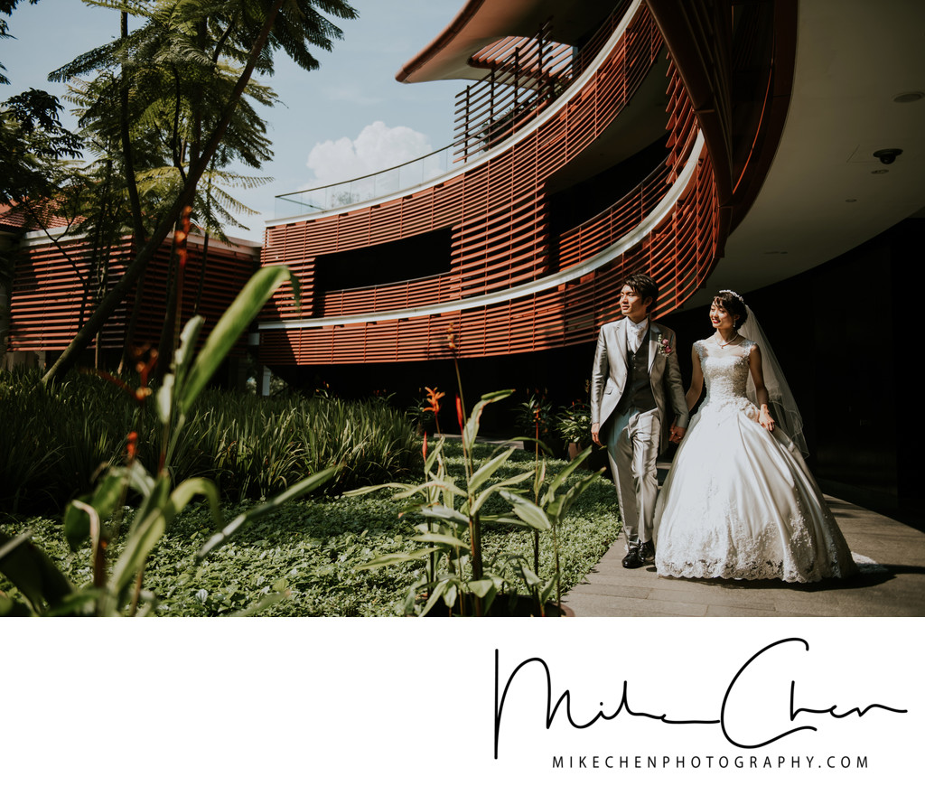 Capella Singapore Wedding Photography