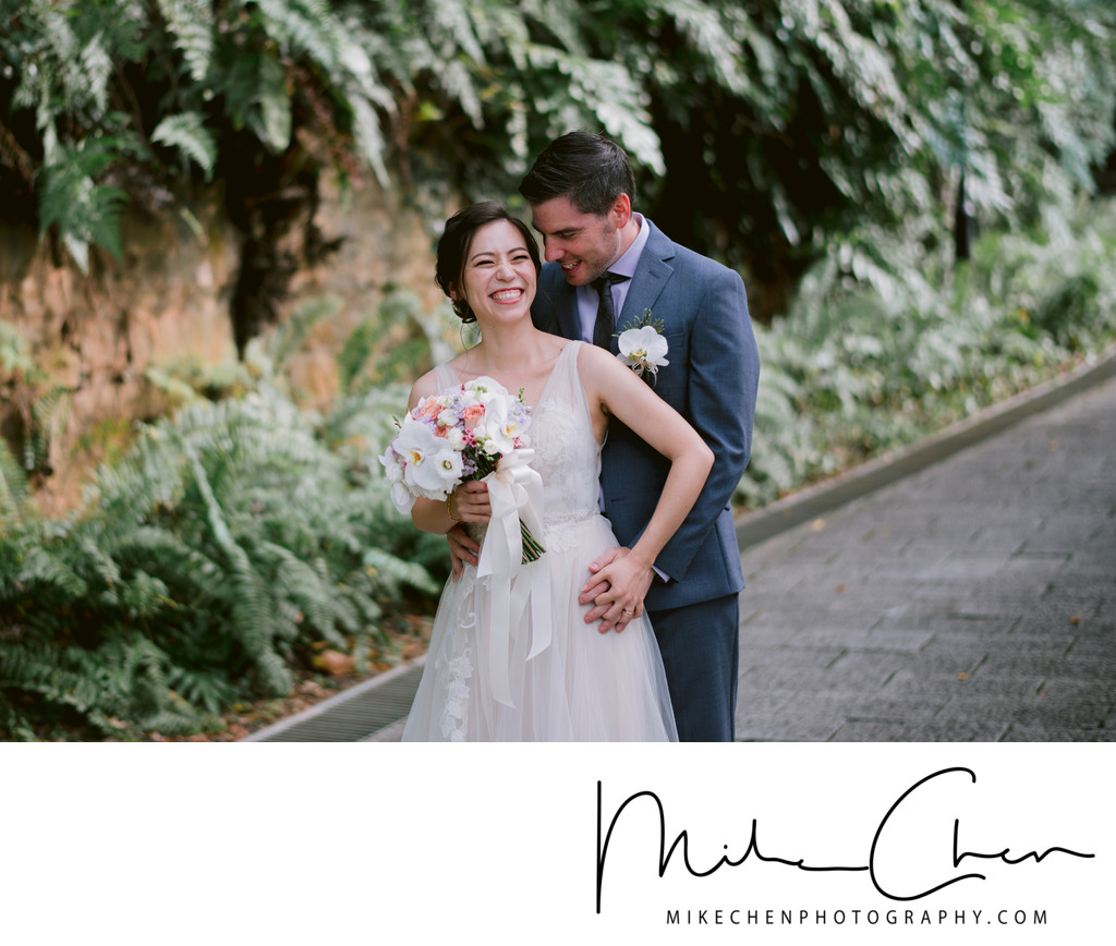 Fort Canning Pre Wedding Singapore