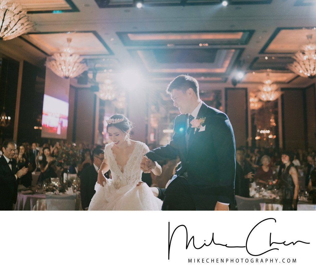 The St. Regis Hotel Singapore Wedding Photography