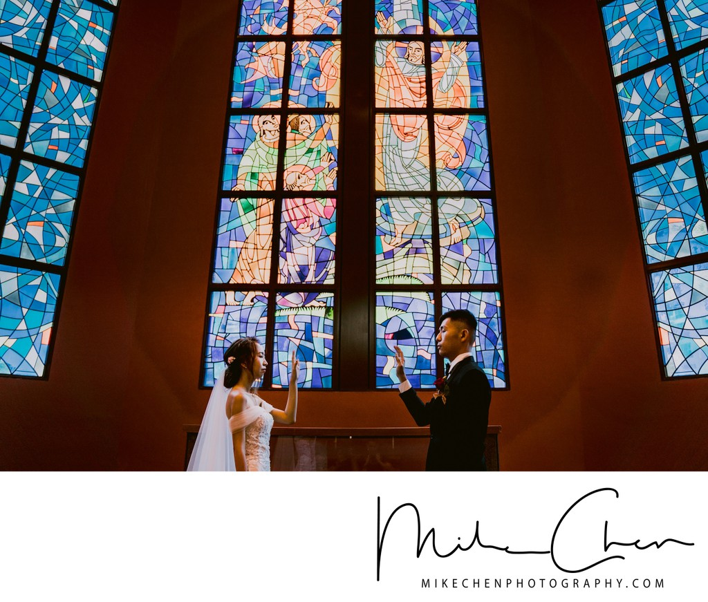 Paya Lebar Methodist Church Wedding Photography Singapore