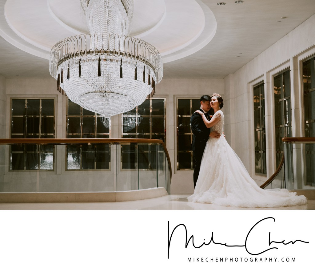 St Regis Singapore Ballroom Wedding Photography